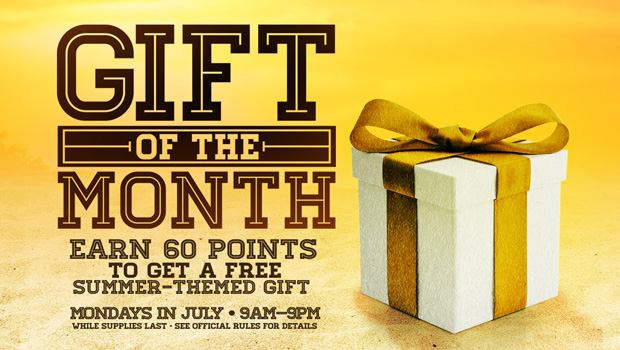 Gift of the Month, July