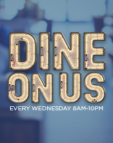 dine on us casino promotion